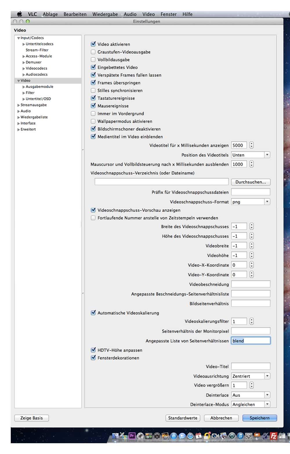 Seitenverhältnis dauerhaft erzwingen - Fragen zum VLC Media Player ...
