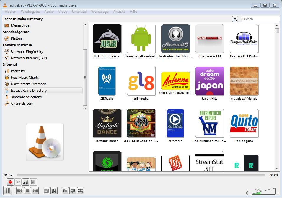 Icecast Radio Directory - Fragen zum VLC Media Player - VLC Player Forum